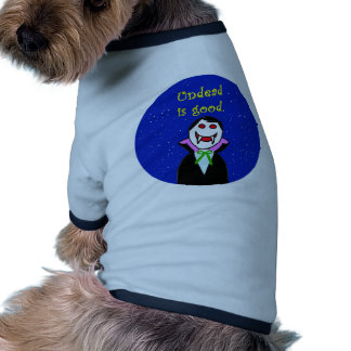 undead is good vampire life dog clothing