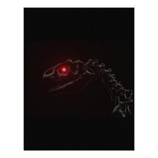 Undead Zombie Dinosaur Skeleton 21.5 Cm X 28 Cm Flyer