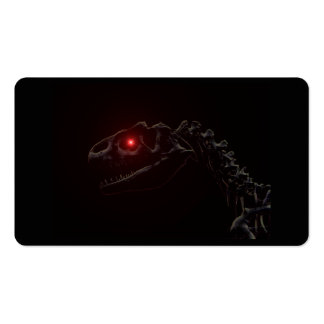 Undead Zombie Dinosaur Skeleton Double-Sided Standard Business Cards (Pack Of 100)