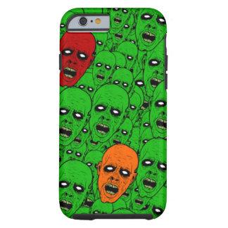Undead Zombie Heads Tough iPhone 6 Case