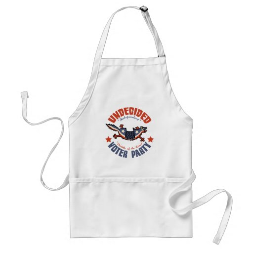 Undecided Voter Party Mascot Aprons