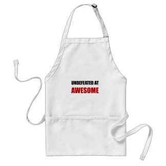 Undefeated At Awesome Standard Apron