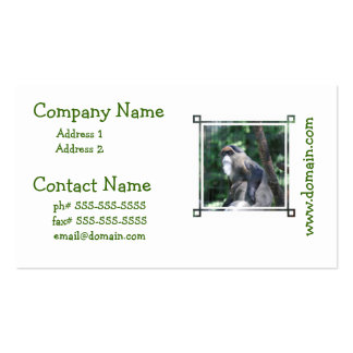 undefined pack of standard business cards