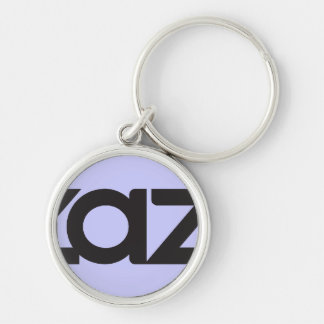 undefined Silver-Colored round key ring