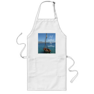 undefined long apron