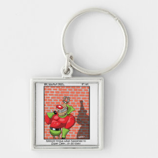 undefined Silver-Colored square key ring