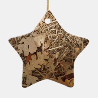 Under a California Valley Oak Tree Ceramic Star Decoration