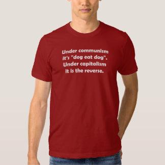"""Under Communism It's """"Dog Eat Dog"""". Under … Shirt"""