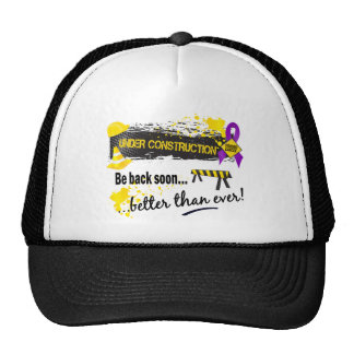 Under Construction Leiomyosarcoma Trucker Hats