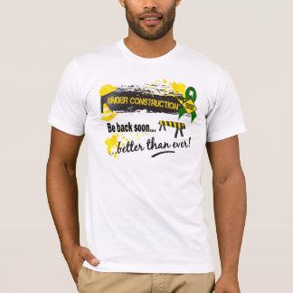 Under Construction Liver Cancer T-Shirt