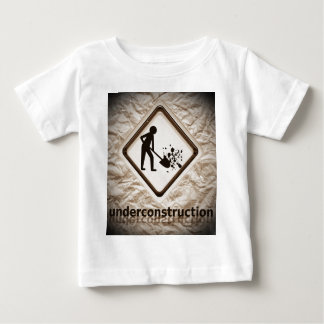 under construction sign tshirts
