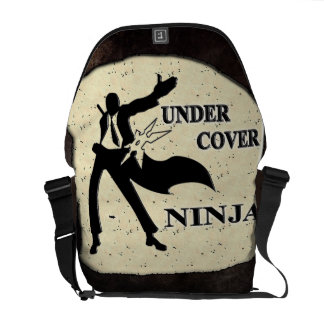 UNDER COVER NINJA COURIER BAGS