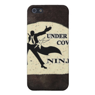 UNDER COVER NINJA iPhone 5 COVER