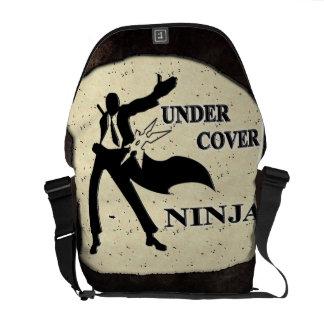 UNDER COVER NINJA MESSENGER BAGS