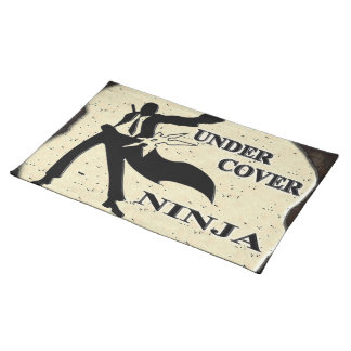 UNDER COVER NINJA PLACEMATS