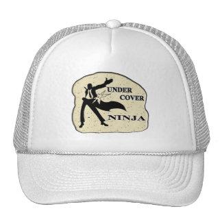 UNDER COVER NINJA TRUCKER HATS