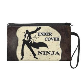 UNDER COVER NINJA WRISTLET PURSE