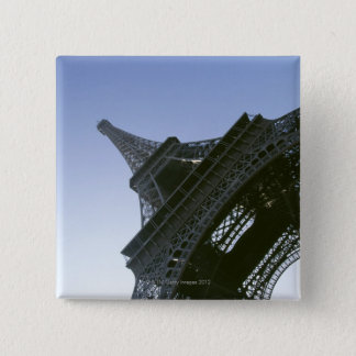 Under Eiffel Tower 15 Cm Square Badge