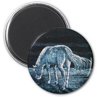 Under Moon Horse Magnet