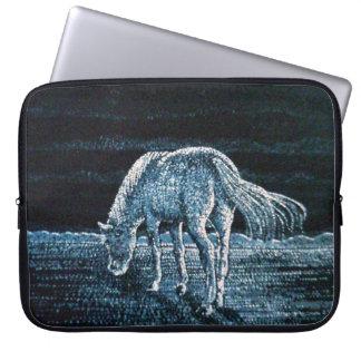 Under Moon Horse Neoprene laptop Sleeve