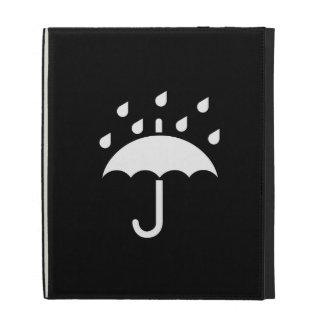 Under My Umbrella Pictogram iPad Caseable Folio iPad Folio Cover