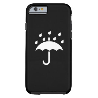 Under My Umbrella Pictogram iPhone 6 Case Tough iPhone 6 Case