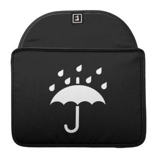 Under My Umbrella Pictogram MacBook Pro Sleeve