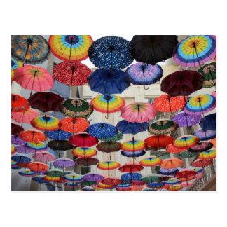 Under my umbrella postcard