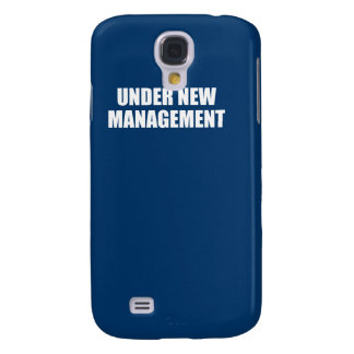 UNDER NEW MANAGEMENT GALAXY S4 COVERS