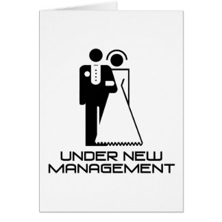 Under New Management Married Cards