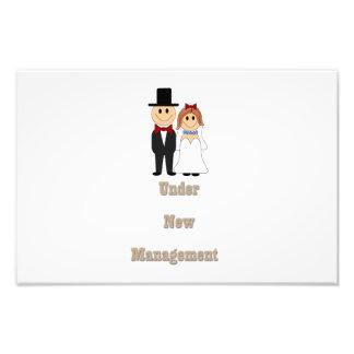 Under new management photo print