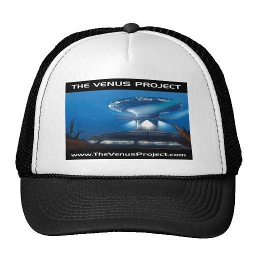 Under Sea City Mesh Hats