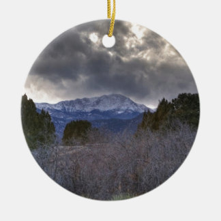 Under Stormy Sky Christmas Ornament