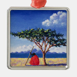 Under the Acacia Tree 1991 Christmas Ornament