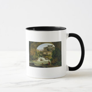Under the arch of a bridge in Italy, 1822 Mug