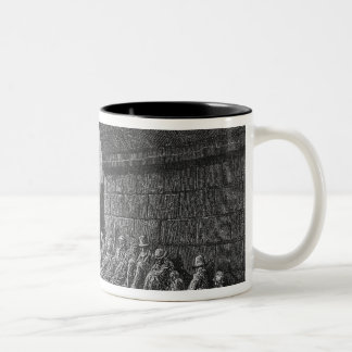 Under the Arches Two-Tone Coffee Mug