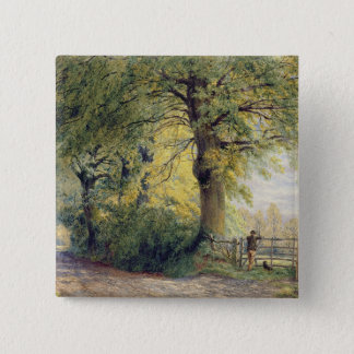 Under the Beeches 15 Cm Square Badge