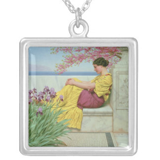 Under the Blossom that Hangs on the Bough, 1917 Silver Plated Necklace