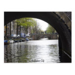 Under The Bridge of Amsterdam Post Card