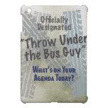 Under The Bus iPad Case