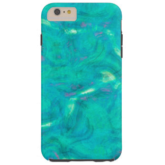 Under the Caribbean Sea Abstract Art Tough iPhone 6 Plus Case