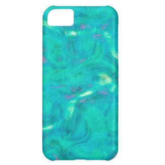 Under the Caribbean Sea Abstract Art iPhone 5C Case