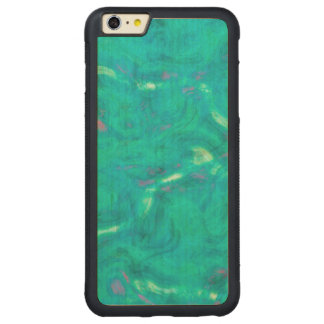 Under the Caribbean Sea Abstract Art iPhone 6 Plus Case