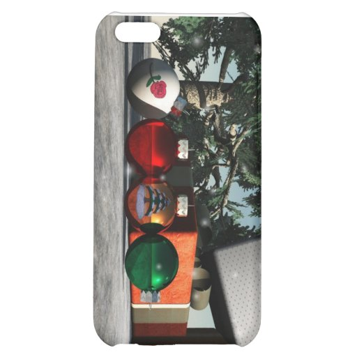 Under The Christmas Tree iPhone 5C Cover