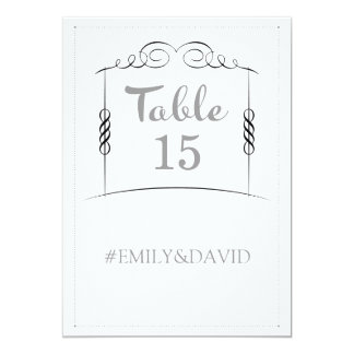 Under the Chuppah Jewish Wedding Table Numbers 13 Cm X 18 Cm Invitation Card
