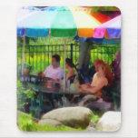 Under the Colourful Umbrellas Mousemat
