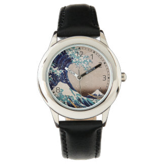 Under the Great Wave off Kanagawa Wristwatch