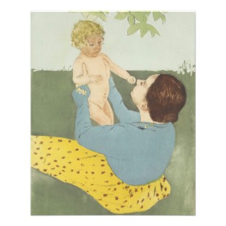 Under the Horse Chestnut Tree by Mary Cassatt 11.5 Cm X 14 Cm Flyer