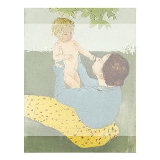 Under the Horse Chestnut Tree by Mary Cassatt 21.5 Cm X 28 Cm Flyer
