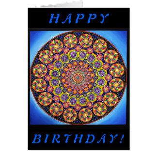 """Under The Microscope"" Birthday Card"